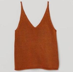 Knit Tank Top 🍂